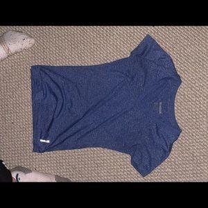 Reebok purple activewear drift tee